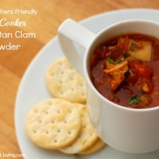 Slow Cooker Manhattan Clam Chowder – 2 SmartPoints