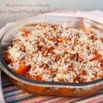 Weight Watchers Slow Cooker Sweet Potato Apple Casserole