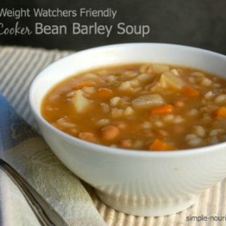 Slow Cooker Bean Barley Soup