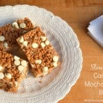Crock Pot Caramel Mocha Crunch Bars