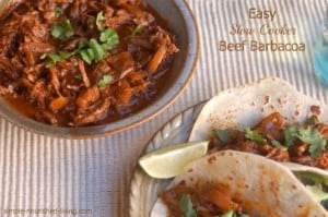 Easy Slow Cooker Beef Barbacoa with Frontera Beef Barbacoa Slow Cooking Sauce