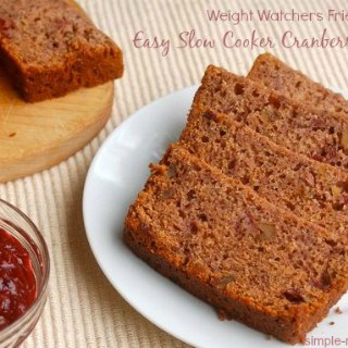 Easy Cranberry Nut Bread in the Slow Cooker