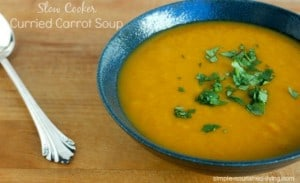 Slow Cooker Curried Carrot Soup