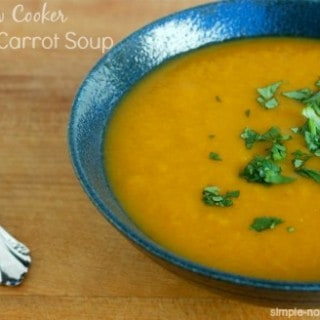 Slow Cooker Curried Carrot Apple Soup – 1 WW Freestyle SmartPoint