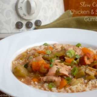 Slow Cooker Chicken and Sausage Gumbo – 7 WW Freestyle SmartPoints