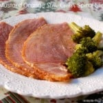 Honey Mustard Orange Slow Cooker Spiral Cut Ham