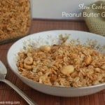 Slow Cooker Peanut Butter Granola