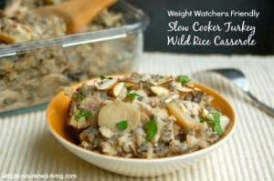 Slow Cooker Turkey and Wild Rice Casserole