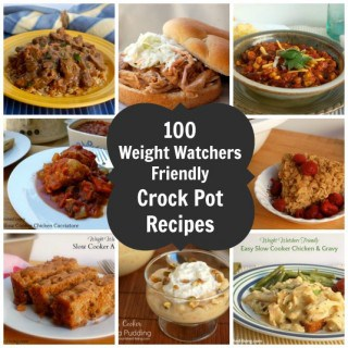 100 Weight Watchers Crock Pot Recipes – Easy & Delicious!