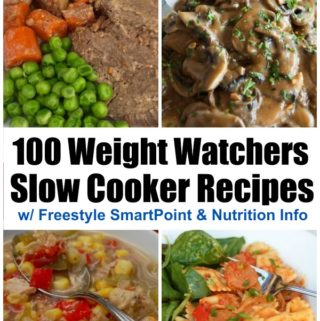 100 Weight Watchers Slow Cooker Recipes Collage