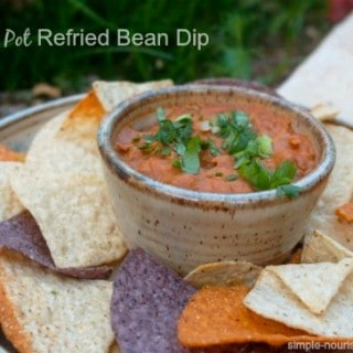 Crock Pot Refried Bean Dip
