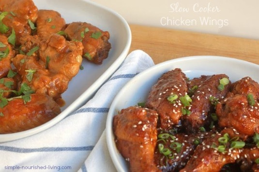 Slow Cooker Chicken Wings