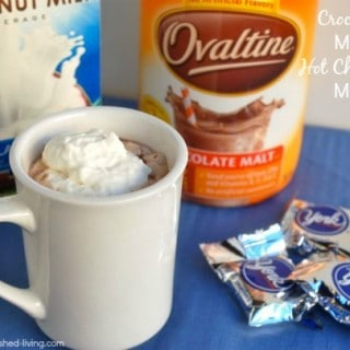 Crock Pot Mint Hot Chocolate