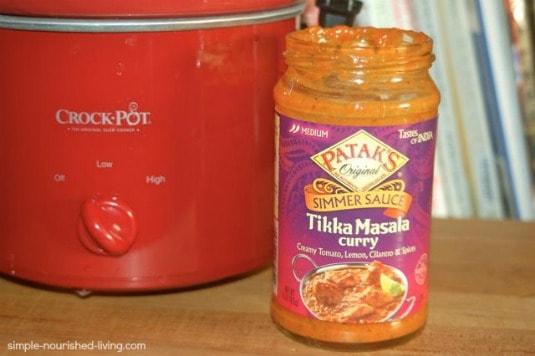 Pataks CrockPot Chicken Tikka Masala Sauce