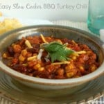 Crock Pot BBQ Turkey Chili