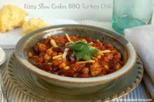 Crock Pot BBQ Turkey Chili