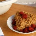 Slow Cooker Baked Oatmeal