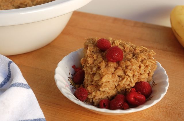 Weight Watchers Slow Cooker Baked Oatmeal