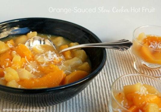 Slow Cooker Hot Fruit