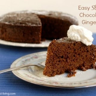 Easy Slow Cooker Gingerbread