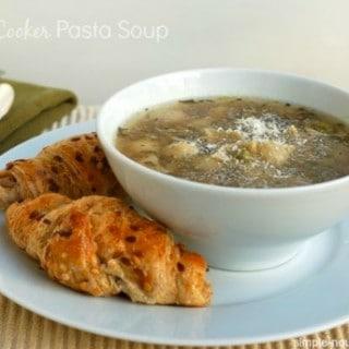 Slow Cooker Pasta Soup