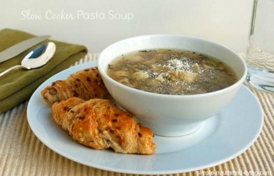 Crock Pot Pasta Soup