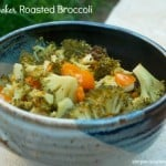 Slow Cooker Roasted Broccoli