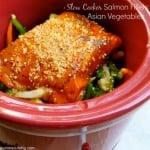 Crock Pot Salmon Fillets