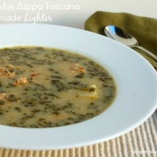 Slow Cooker Toscana Soup