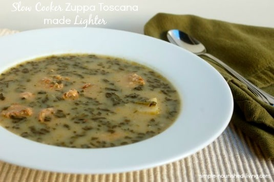 Crock Pot Toscana Soup