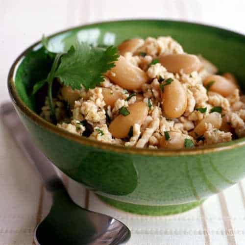Slow Cooked White Bean Turkey Chili