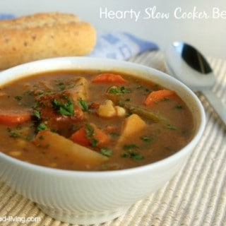 Hearty Slow Cooker Beef Stew – 6 SmartPoints