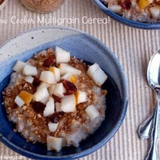 Slow Cooker Multigrain Cereal