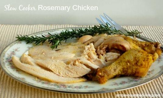 Crock Pot Rosemary Chicken