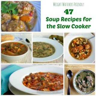 47 Low Calorie Weight Watchers Soup Recipes for the Slow Cooker
