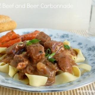 Crock Pot Beef and Beer Carbonnade