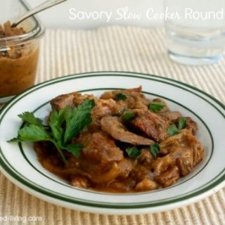 Savory Slow Cooker Round Steak