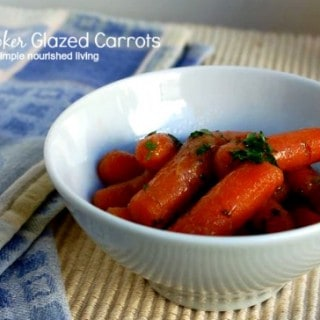 Slow Cooker Carrots with Apple Glaze