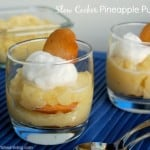 Slow Cooker Pineapple Pudding