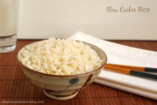 Crock Pot Rice - 5 Weight Watchers Freestyle SmartPoints
