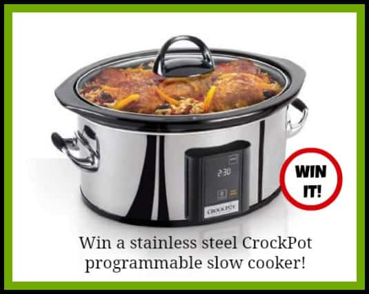 Weight Watchers Soup Crock Pot Giveaway