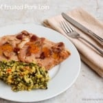 Crock Pot Fruited Pork Loin
