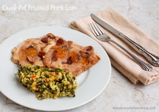 Pot-Roasted Pork Loin With Fall Fruits Recipes — Dishmaps