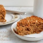 Weight Watchers Friendly Crock Pot Carrot Cake Baked Oatmeal
