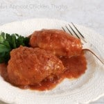 Slow Cooker Apricot Chicken Thighs