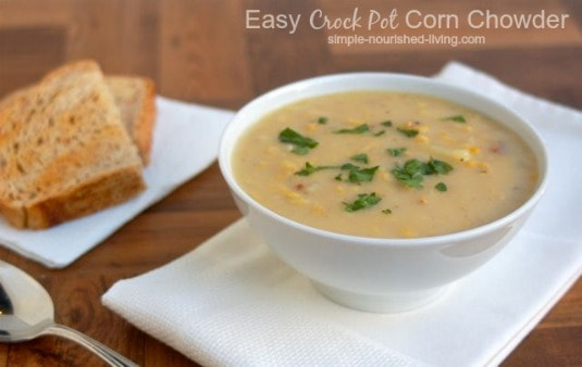 Slow Cooker Corn Chowder Recipe — Dishmaps