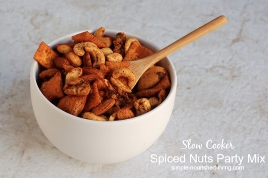 Slow Cooker Spiced Nuts