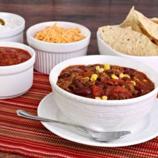Weight Watchers Taco Soup {Slow Cooker or Stovetop}