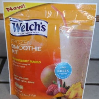 Welch's Strawberry Mango Frozen Smoothie Kit Review