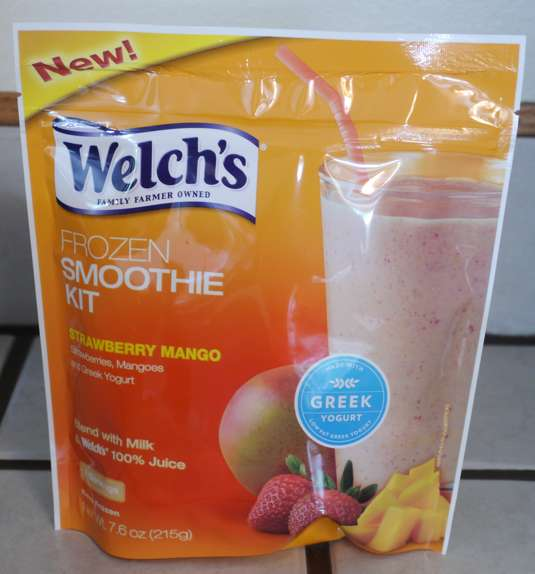 Welchs Strawberry Mango Smoothie Kit